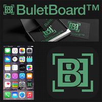 BuletBoard logo and icon by MadalinVlad
