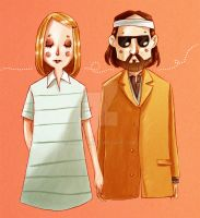 Margot and Richie by Nachan