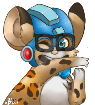 Example Commision without background by Baase