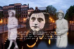 The Ghosts of Anne Frank by Livadialilacs