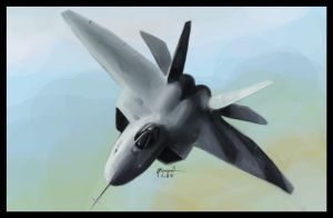 F22 Raptor by djorgensen