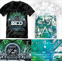 Zedd Clarity T-shirts by ruudvaneijk