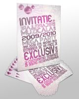 NYE Party Invitations by emosul