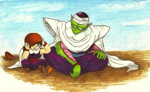 Look, Mr. Piccolo! (Colour) by shadesoflove