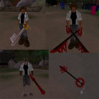 Kingdom Hearts in Second Life by Werewolf-Archangel