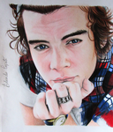 Harry Styles - One Direction by EduardoCopati
