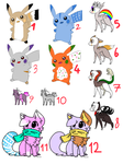 12 Adopts :OPEN: by DP-Adoptables