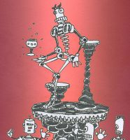 The Robot and the Goblet of Pretentiousness by 19cartwheels