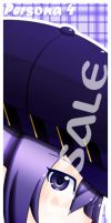 P4 - Naoto - Sample book mark by Miusaionjigirl