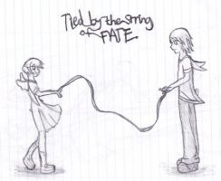 Tied by the String of Fate by Keroanne