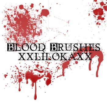 Blood Brushes by superlibbie