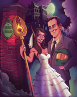 Wedding Portrait (Geek) by Devinator200