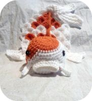 Crochet Koi Fish Baby Prop by AAMurray