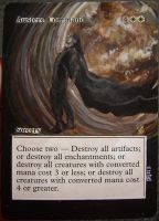 Magic Card Alteration: Austere Command 10-7 by Ondal-the-Fool