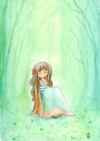The forest girl by tai-oni