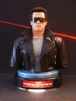 The Terminator Bust - Arnold S by JIM-SWEET