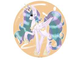 Princess Celestia by Tomat-in-Cup