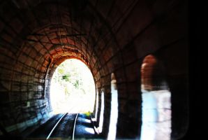 The Light at the End of the Tunnel by InsideHerself