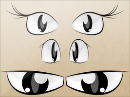 Anime Eyes by theIwitcher by theIwitcher
