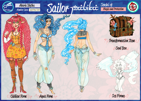 SMV Alvarie Blythe/Sailor Alvarie Reference by Razzl3erry