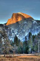 Half Dome by digitalabstract