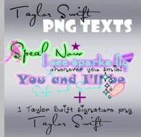 Taylor Swift PNG Text by pempengcoswift13