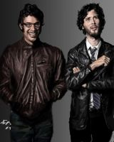 Flight of the Conchords portra by vegas9879