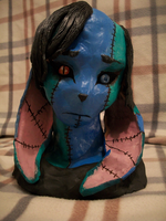 Finished Rae in Clay by IceCatDemon