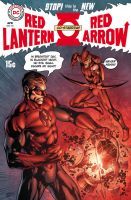 Fringe Red Arrow Red Lantern by perpetualpanda