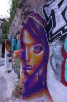Athens street art by five11a