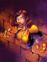 kitty Pryde by thiagozero