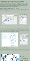 How to Create Smooth Lineart by i-Moosker