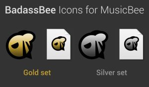 BadassBee Icons for MusicBee by JMoss90