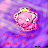 Princess willy by Kibasrakuen57