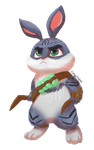 Easter Bunny by CottonValent