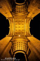 Under The Arc at Night by cupplesey