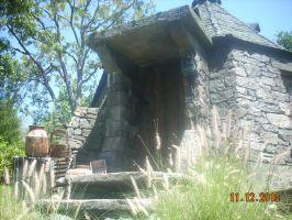 Hagrid's Hut from HP World by xbeachgirl13