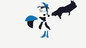 [Vector] Storm Trooper Minimal Wallpaper by Cheetashock