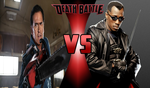 Death Battle idea #27: Ash Williams vs Blade by SonSilvShad18