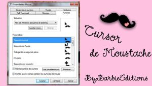 Cursor Moustache by BarbieEditionsYT