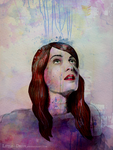 Watercolor Florence by Little--Decoy