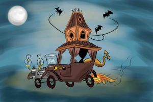 The Creepy Coupe by sandygrimm2000