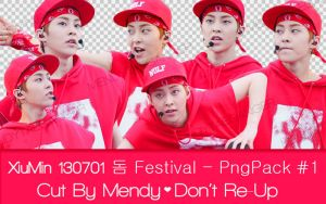 XiuMin PNG Pack #1_Cut By MendyTaeganger_(5Pngs) by MendyTaegnager