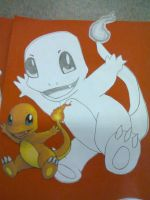 Charmander by PinkCollour