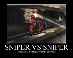 Sniper vs sniper by Scare-Safe