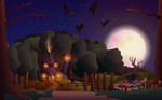 Witch Scape by pica-ae