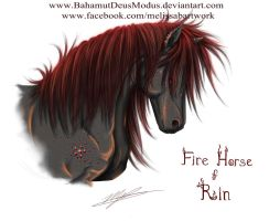 Fire Horse of Rin by BahamutDeusModus