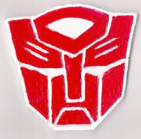 Autobot magnet by loaves