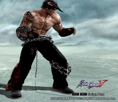 SoulCalibur V: Devil Jin by Armoun