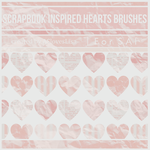 {SAI resources} Scrapbook Inspired Hearts Brushes by ASlovesLisa